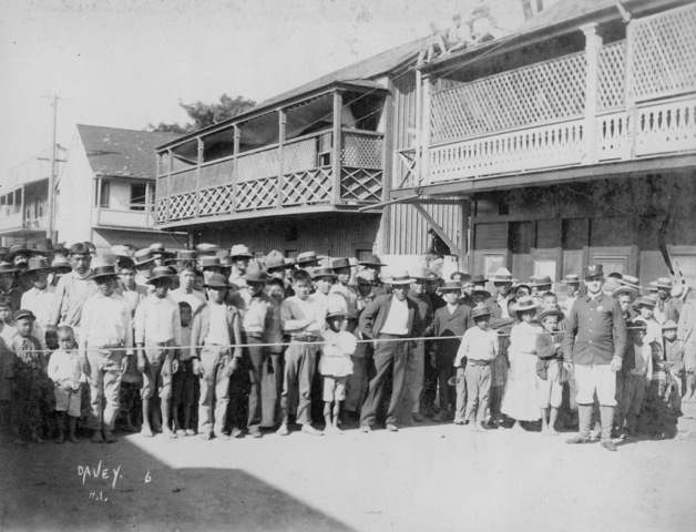 Honolulu Chinatown 1900 Quarantine