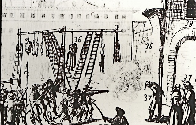 Plague in Rome 1665