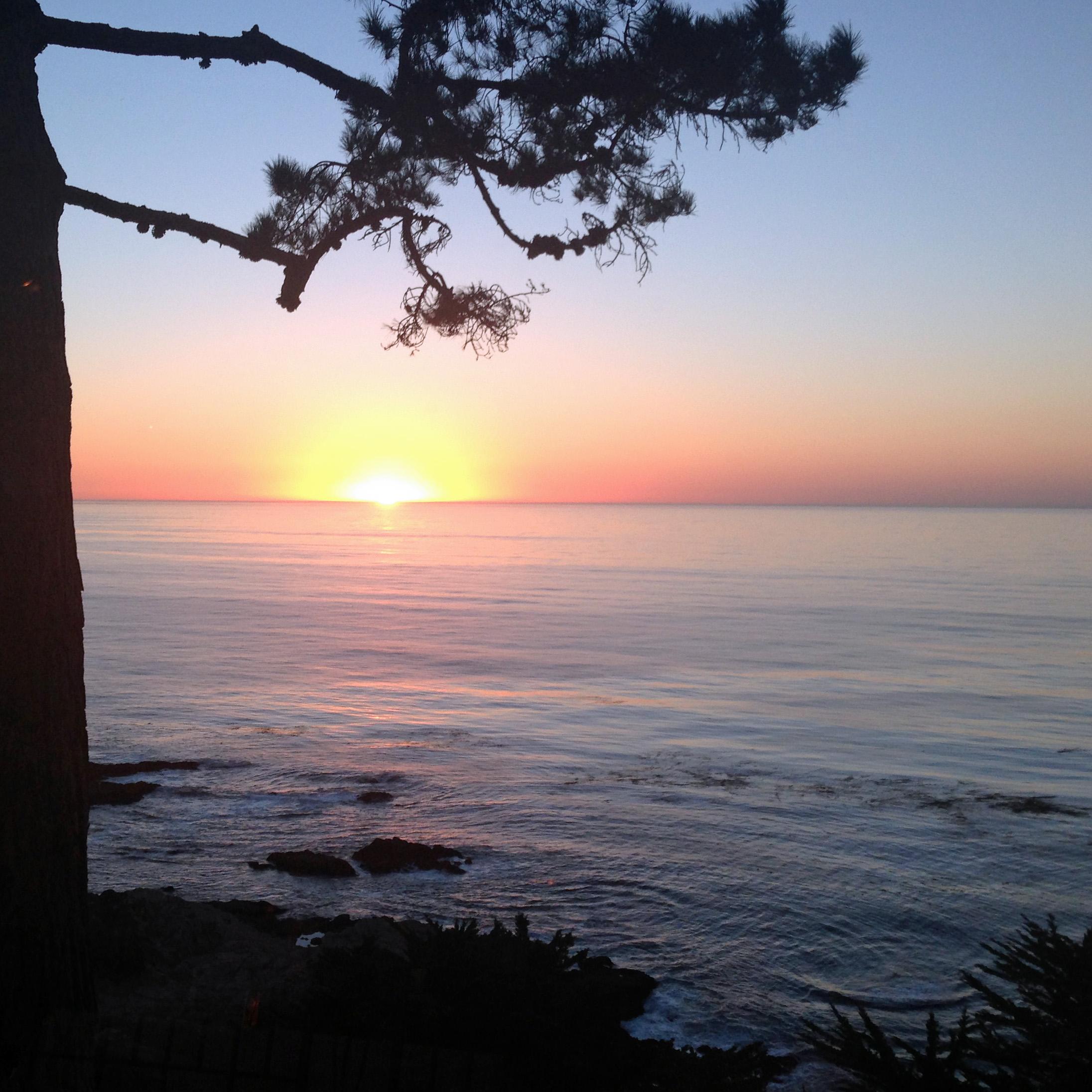 Carmel Sunset Monterey Bay