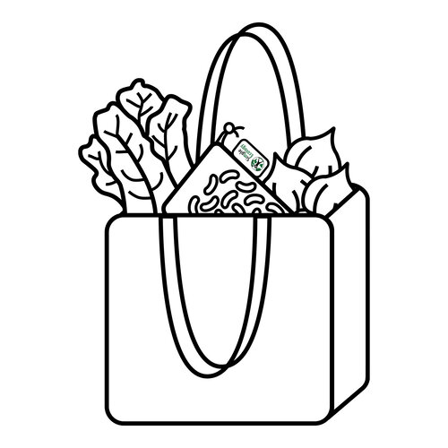 Step 1: Bring Produce Bags when Shopping