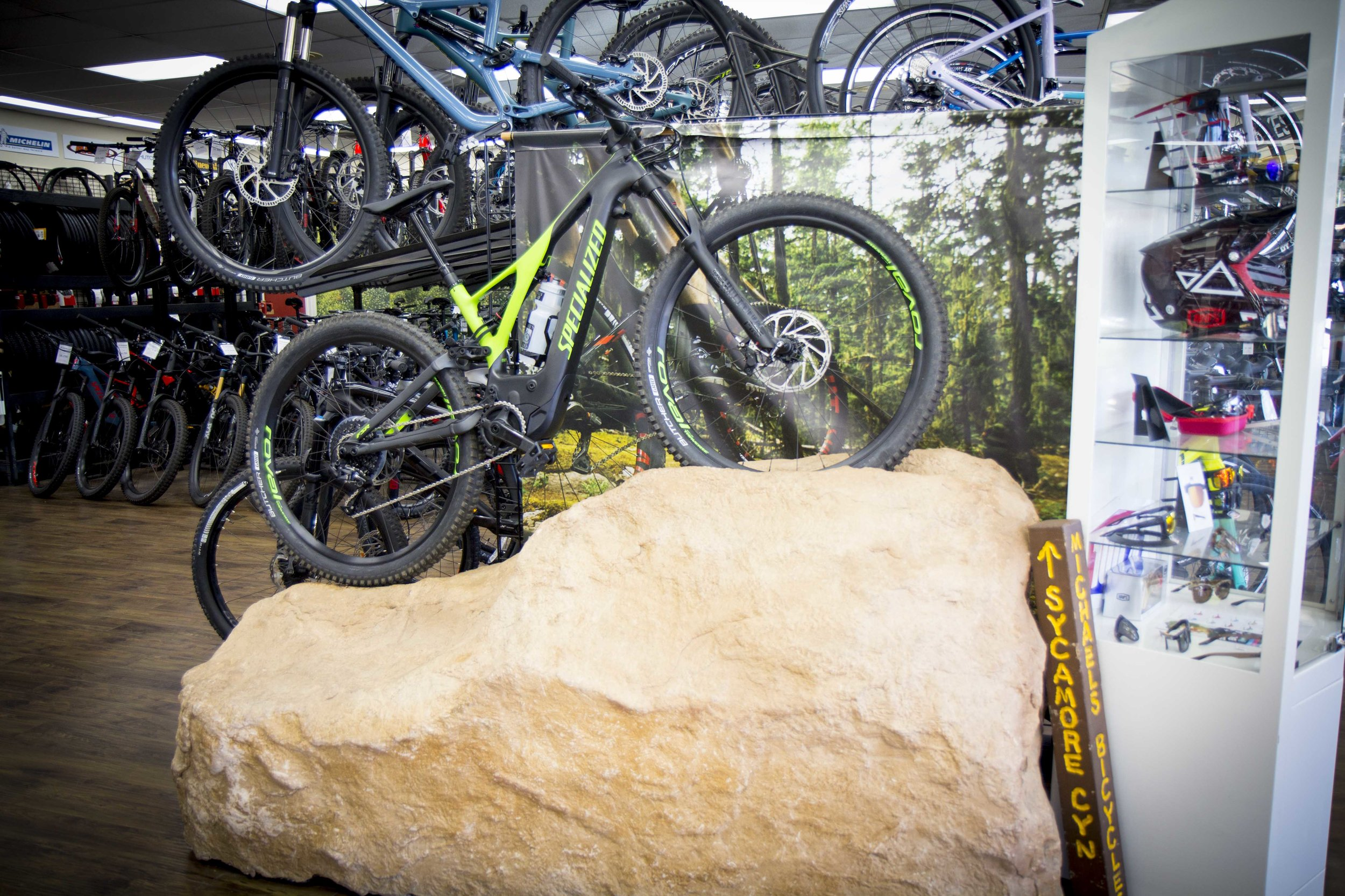 E-Bikes! - Michael's Bicycles Has a Large Selection of the Latest E-Bikes From Trek, Specialized, Electra and More!