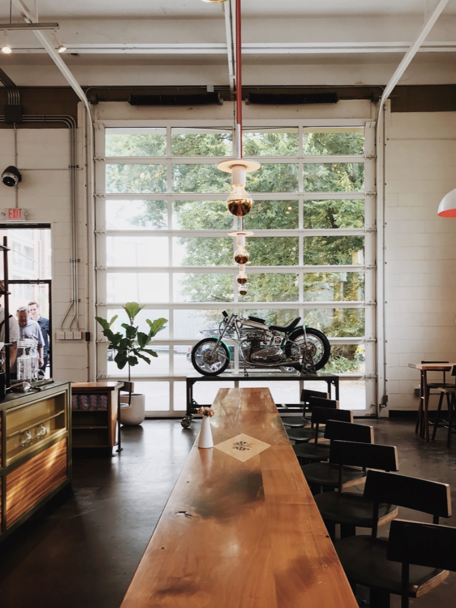 BARISTA PARLOR - COFFEE - There is 3 of these locations in town. If you want the original, its in East Nashville. There is also one in the Gulch and in Germantown. Each is hip, original and has great coffee.📷: @mrbenjaminjason