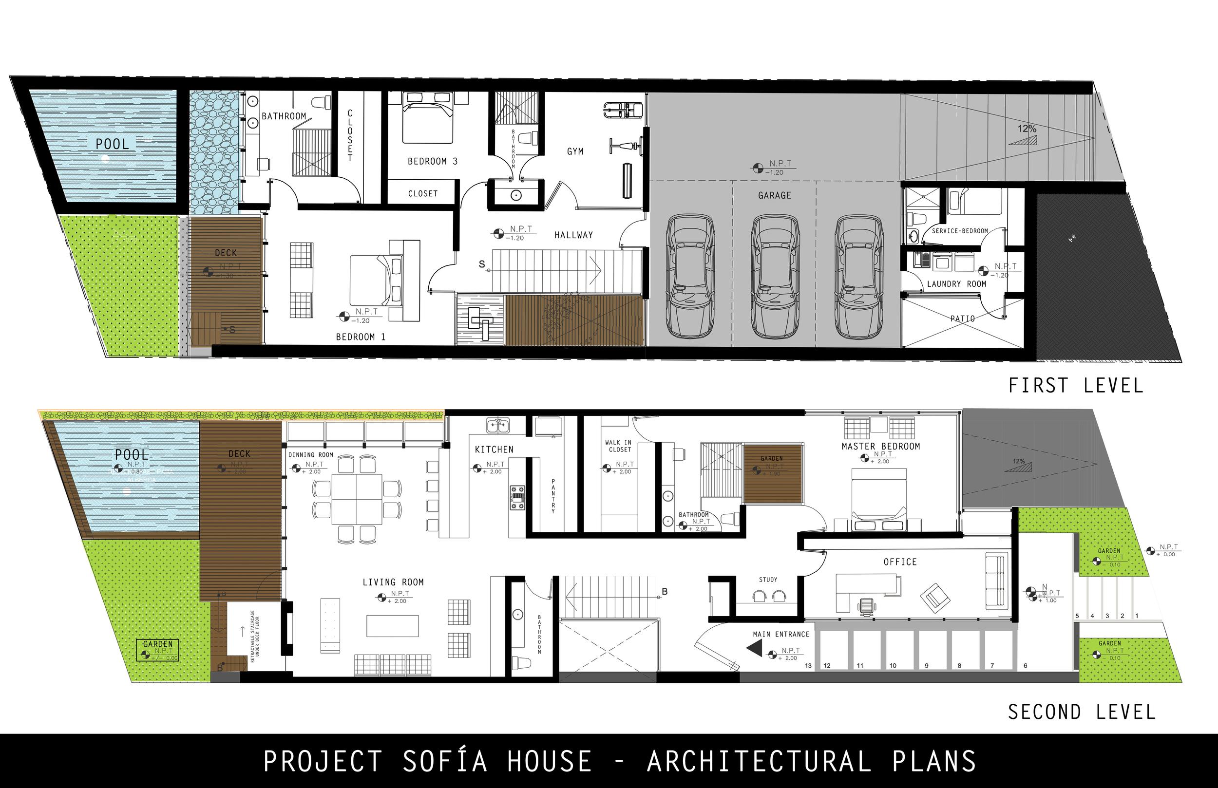 Sofíaarchitecturalplans