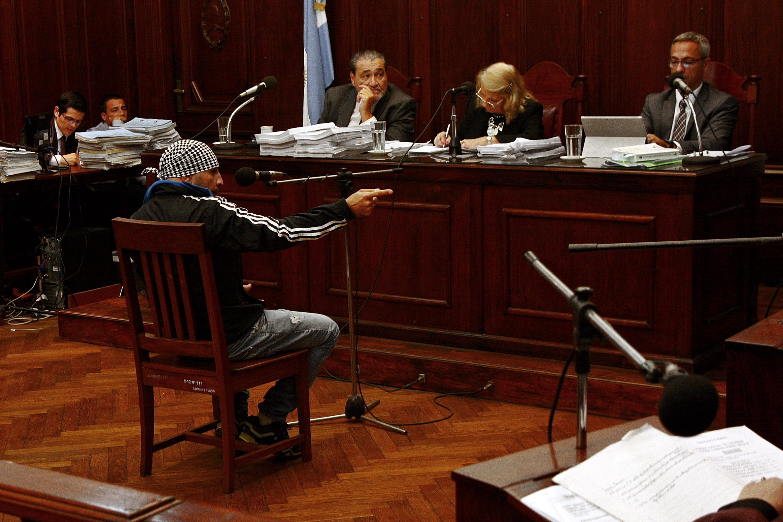 Marcelo López, amigo de Ismael y víctima en la causa. El 10 de noviembre de 2011 volvían a su casa y dos policías vestidos de civil los atacaron. Marcelo sobrevivió y declaró ante el tribunal.