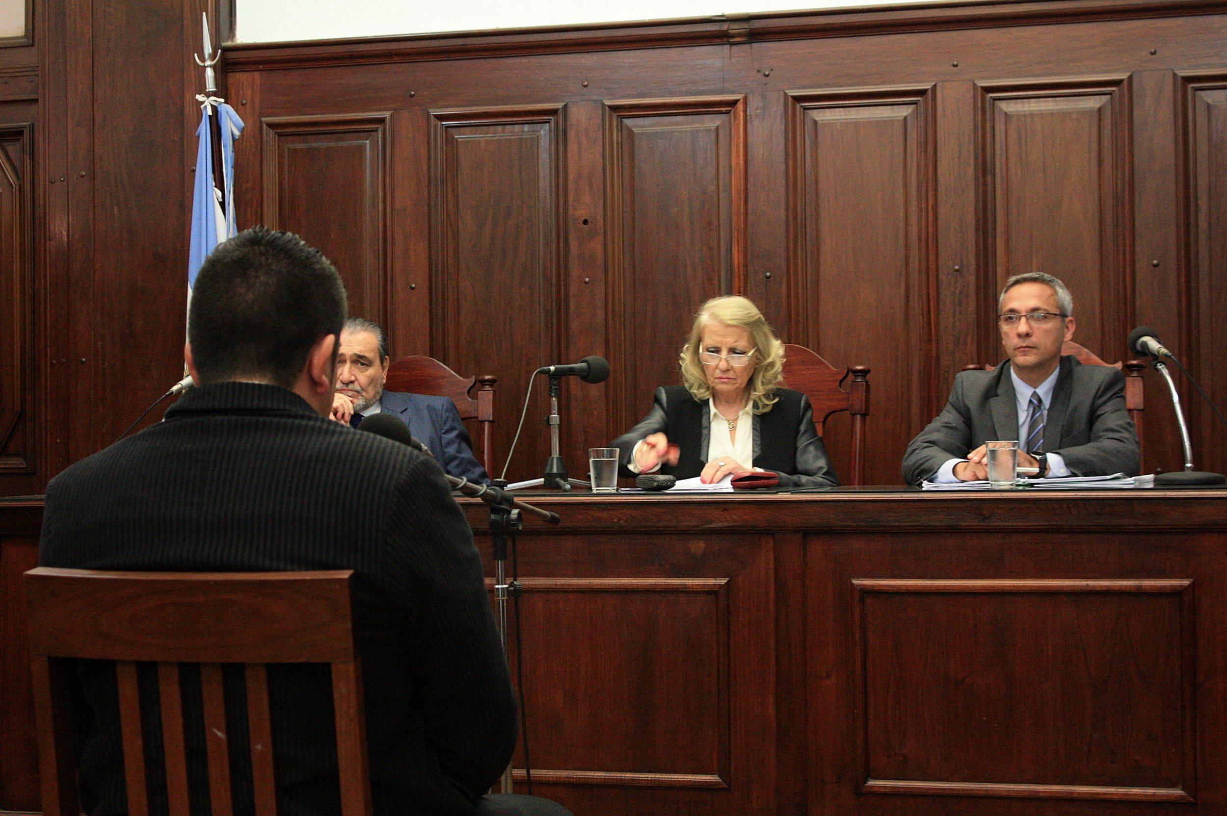 Mondino Becero hizo uso de su derecho de decir las últimas palabras ante el tribunal antes de la sentencia.
