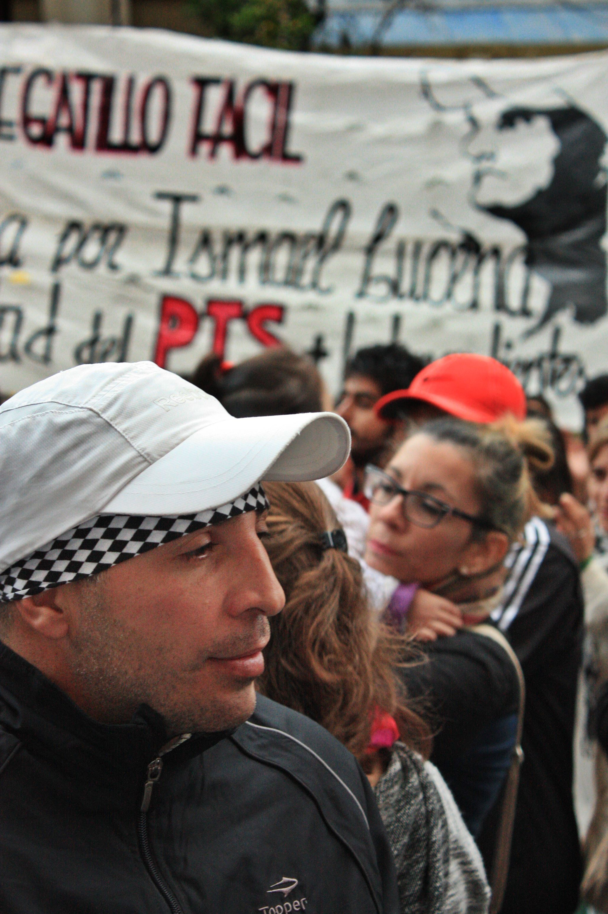 """Marcelo López luego de conocer la sentencia. """"Siento paz"""", dijo."""