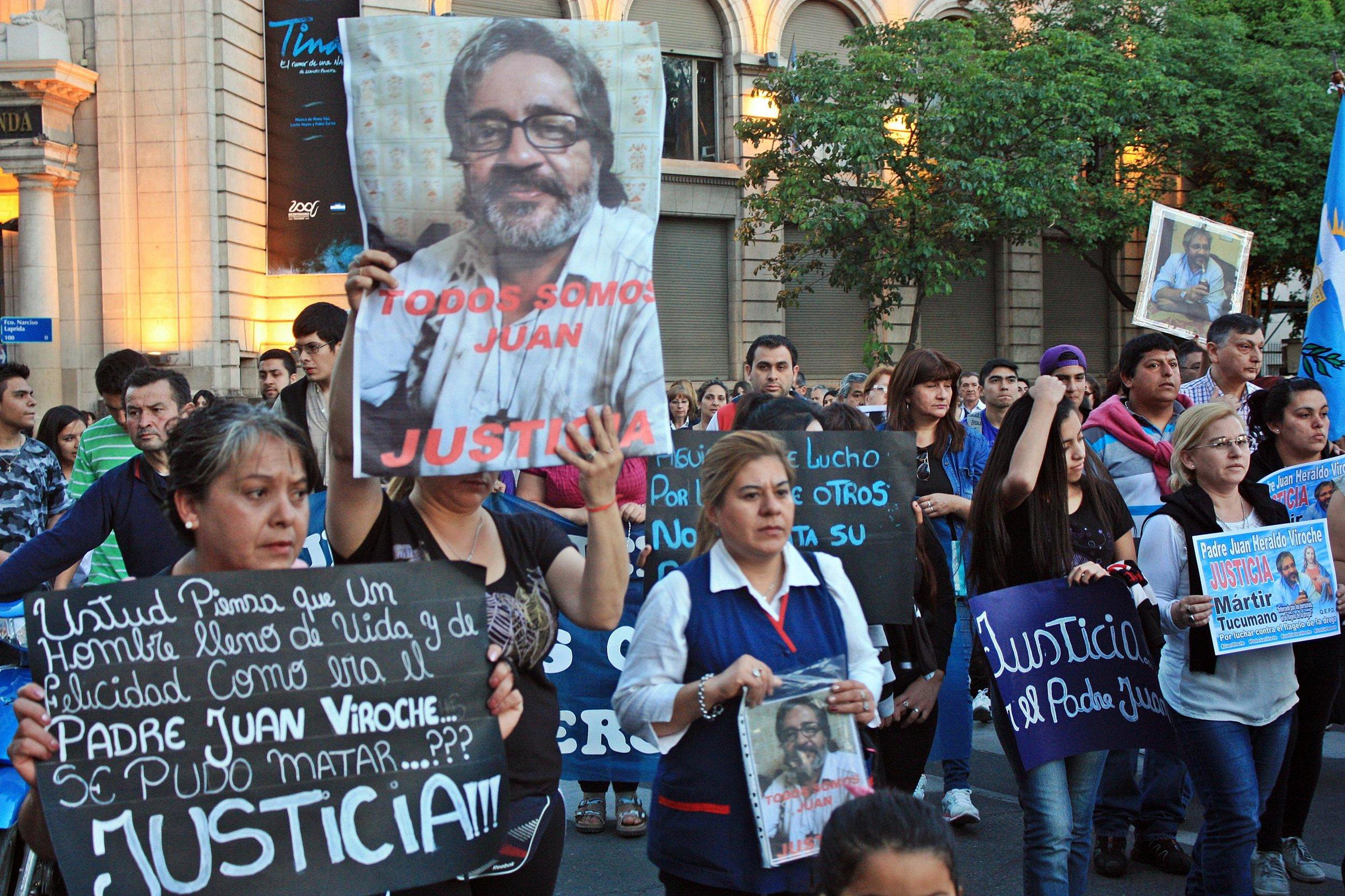 Marcha por el Padre Juan | Ignacio López Isasmendi
