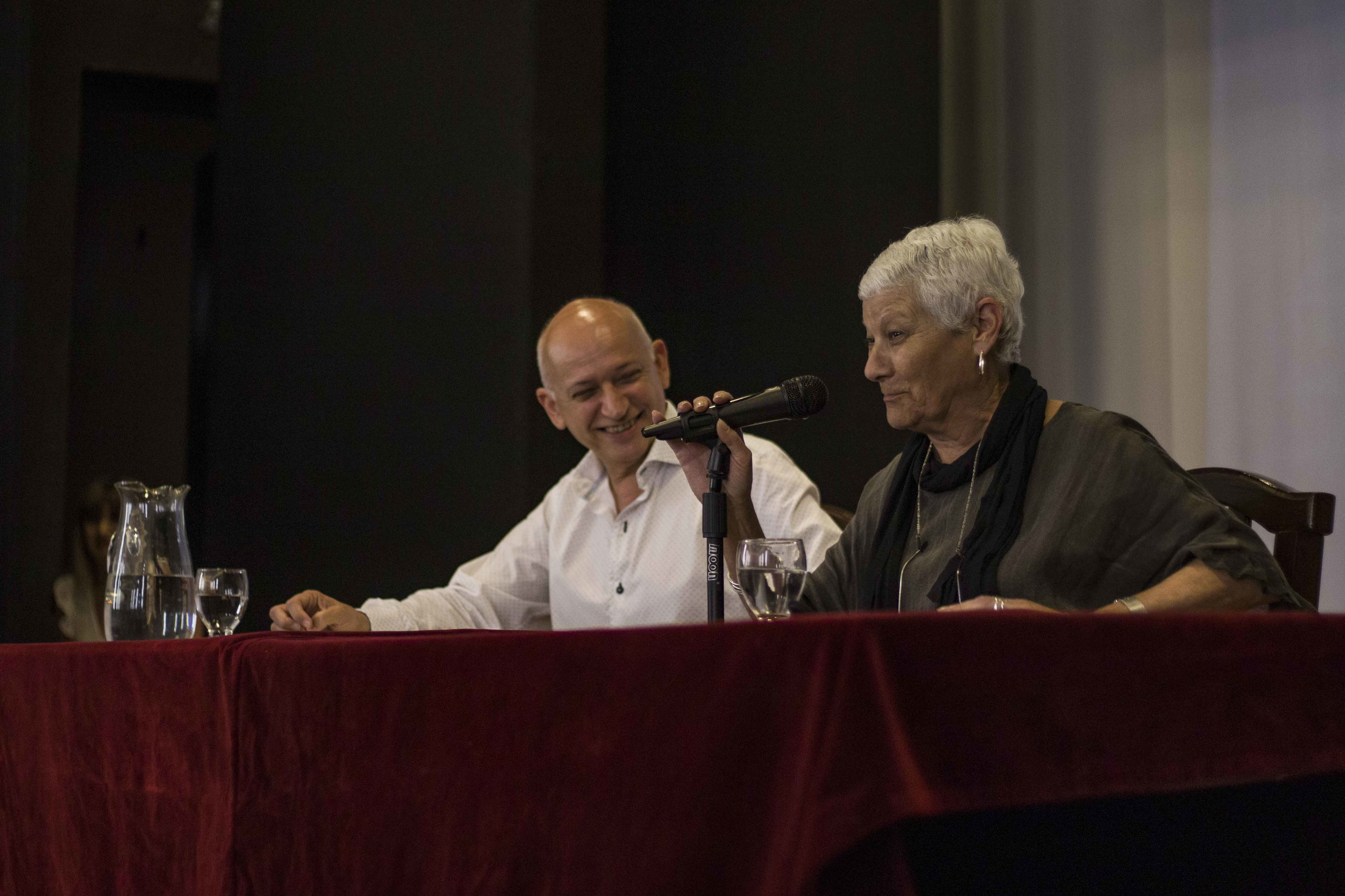 Los presentadores del libro, Ricardo Bocos y Marita Mata   Fotografía de Ignacio López Isasmendi