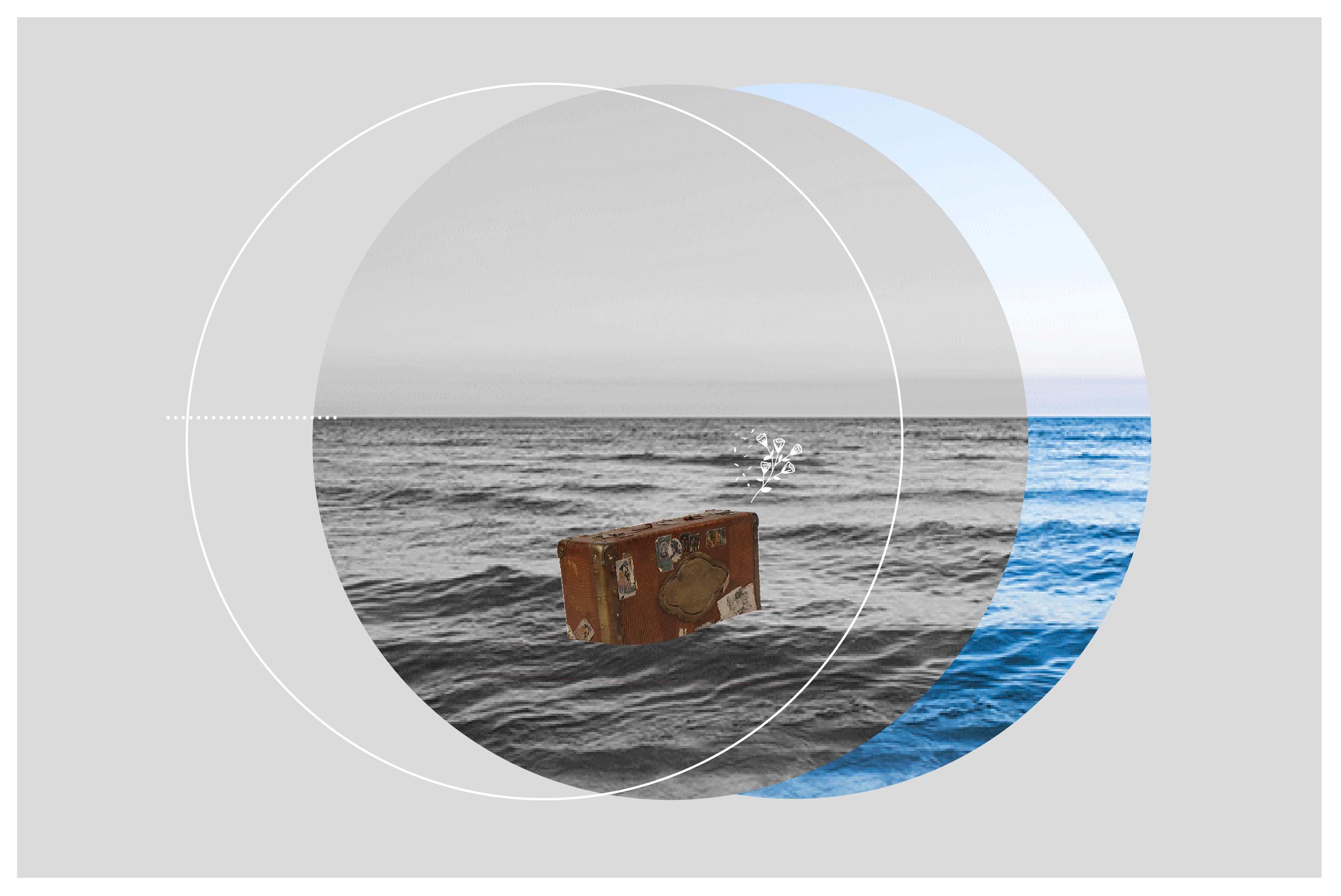 Collage de  Luly Gosne  para Pimienta Estudio.
