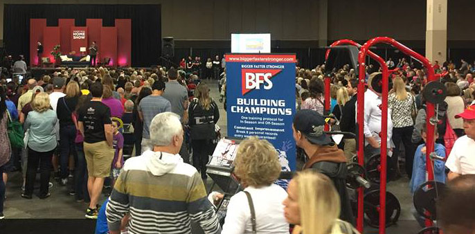 The Absolute line form BFS debuts to a standing room only crowd at the Salt Lake Home Show featuring the Property Brothers