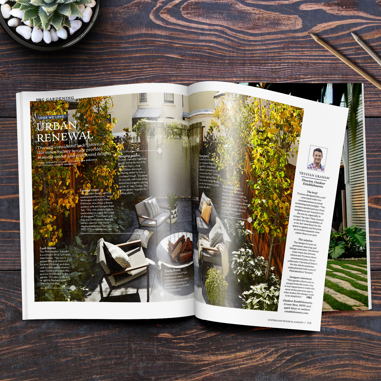Woolloomooloo Featured In House Garden Australia May Edition