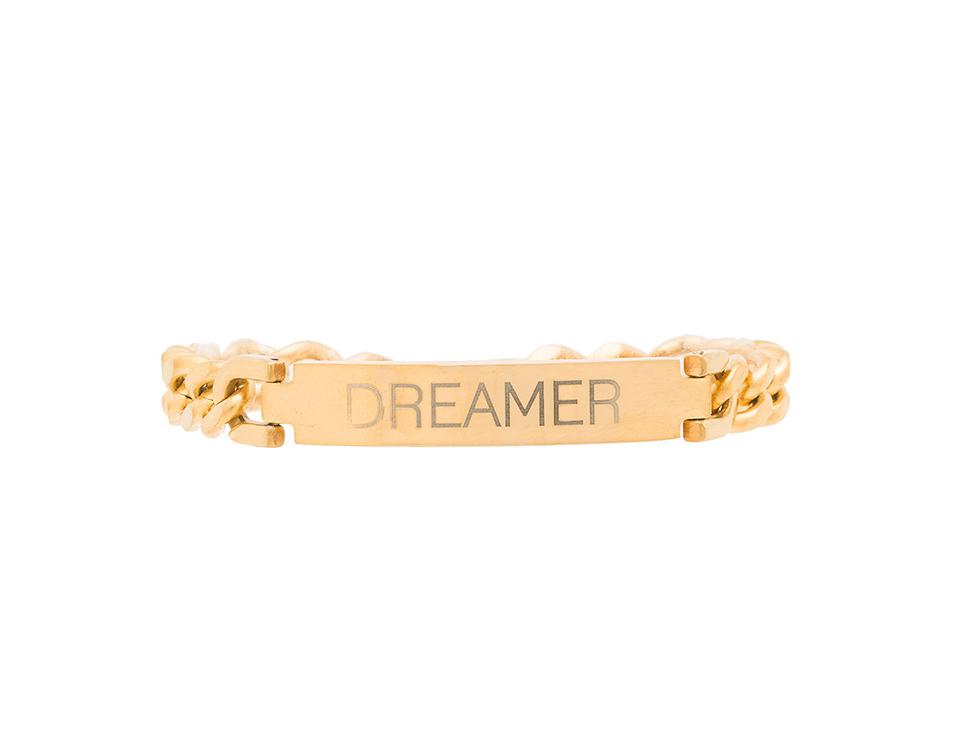 DREAMER ID BRACELET - $54