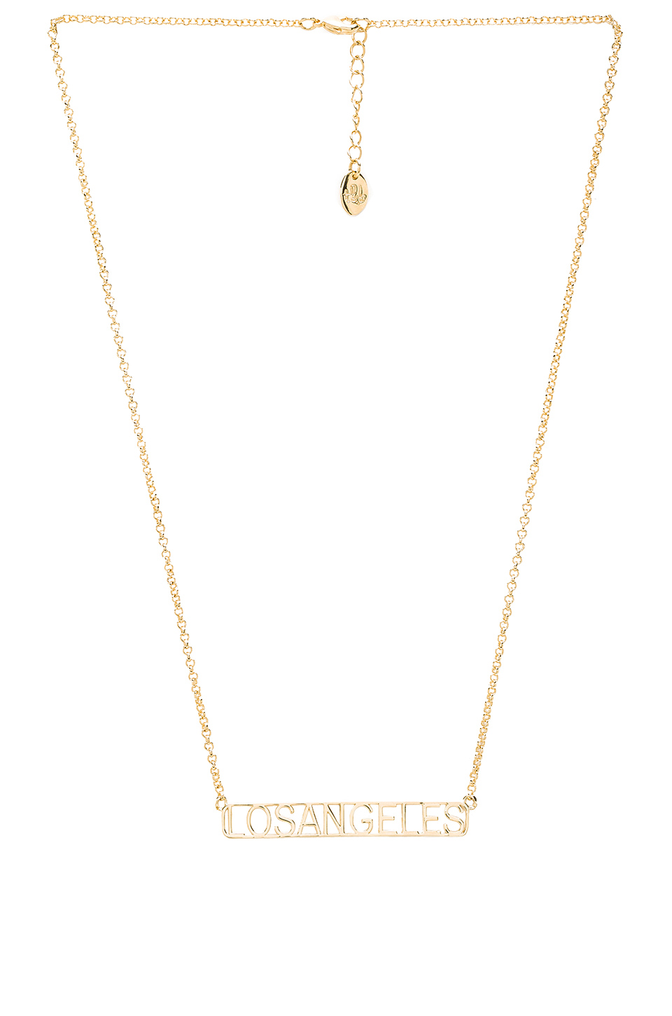 LOS ANGELES NECKLACE - $98