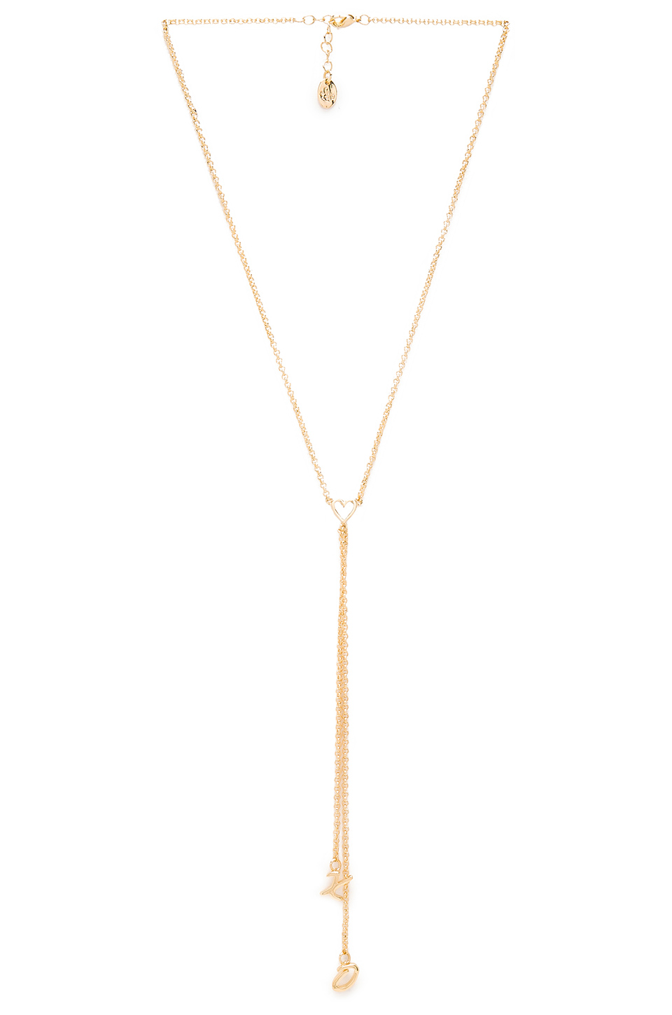 XO LARIAT NECKLACE - $91