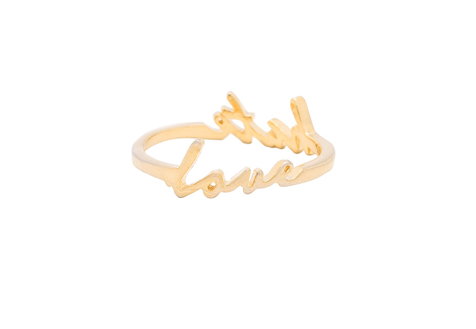 LOVE HATE RING - $99