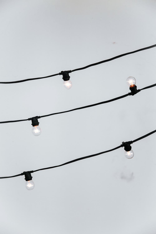 $3.25/ft Black String Market Lighting