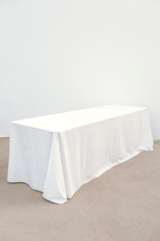 Ivory Banquet Rectangular