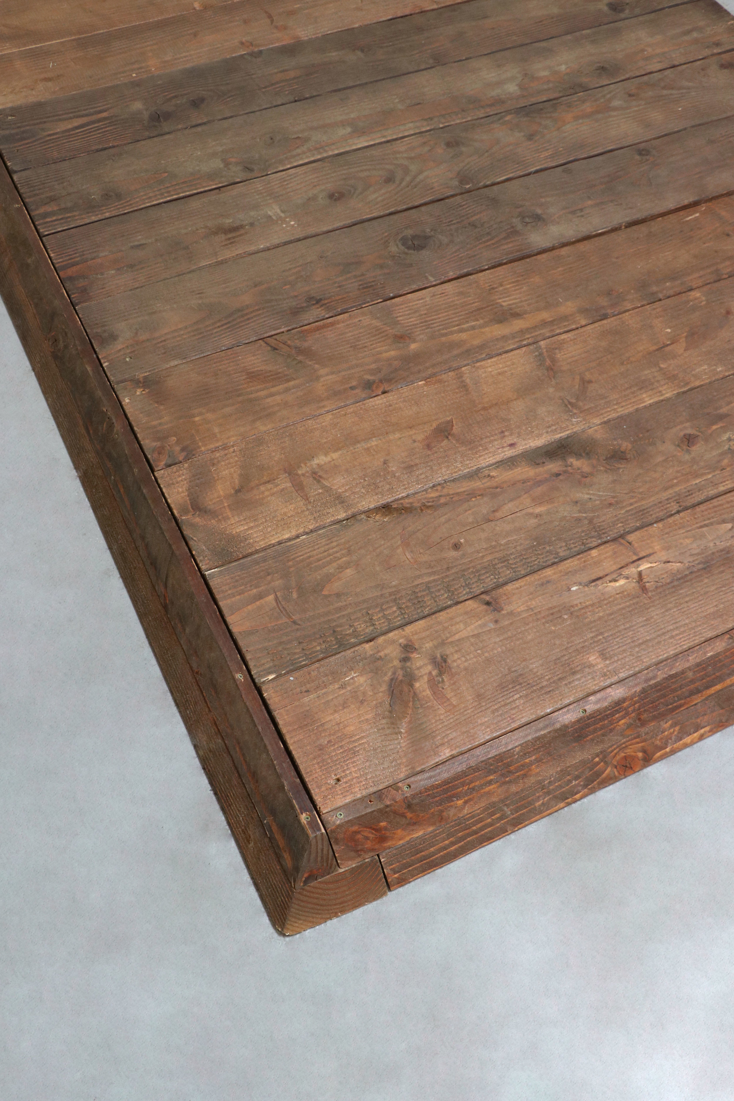 Rustic Wooden Dance Floor