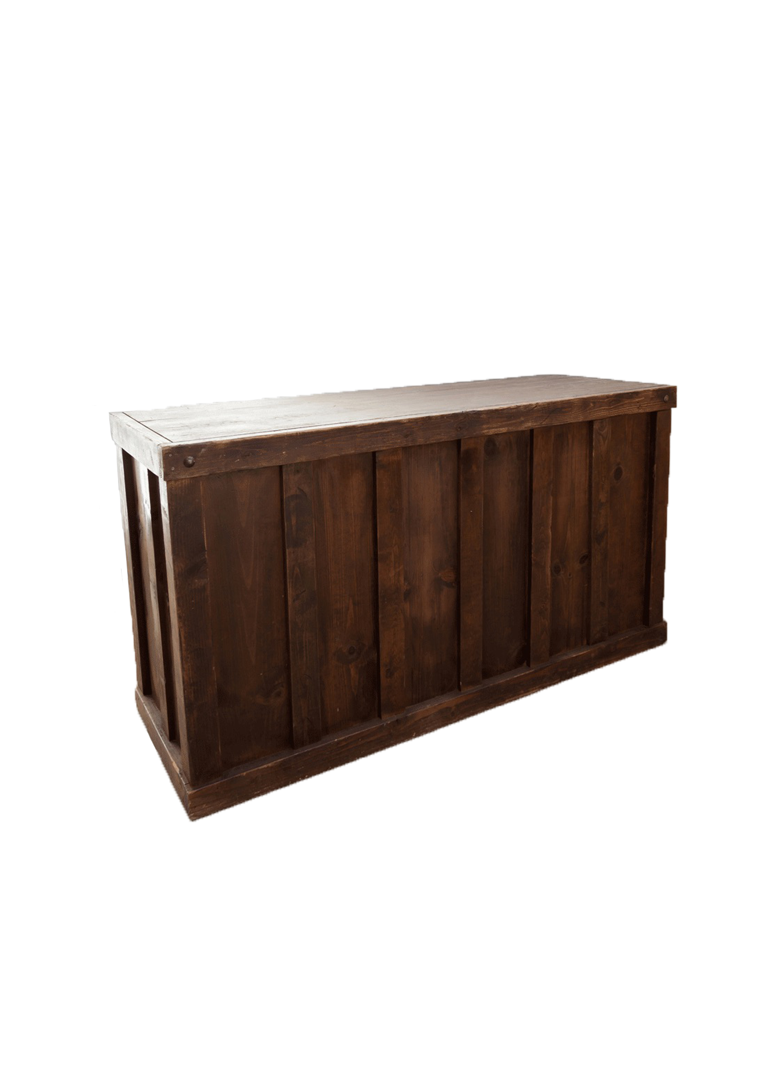$225 Mahogany Wooden Bar 6ft