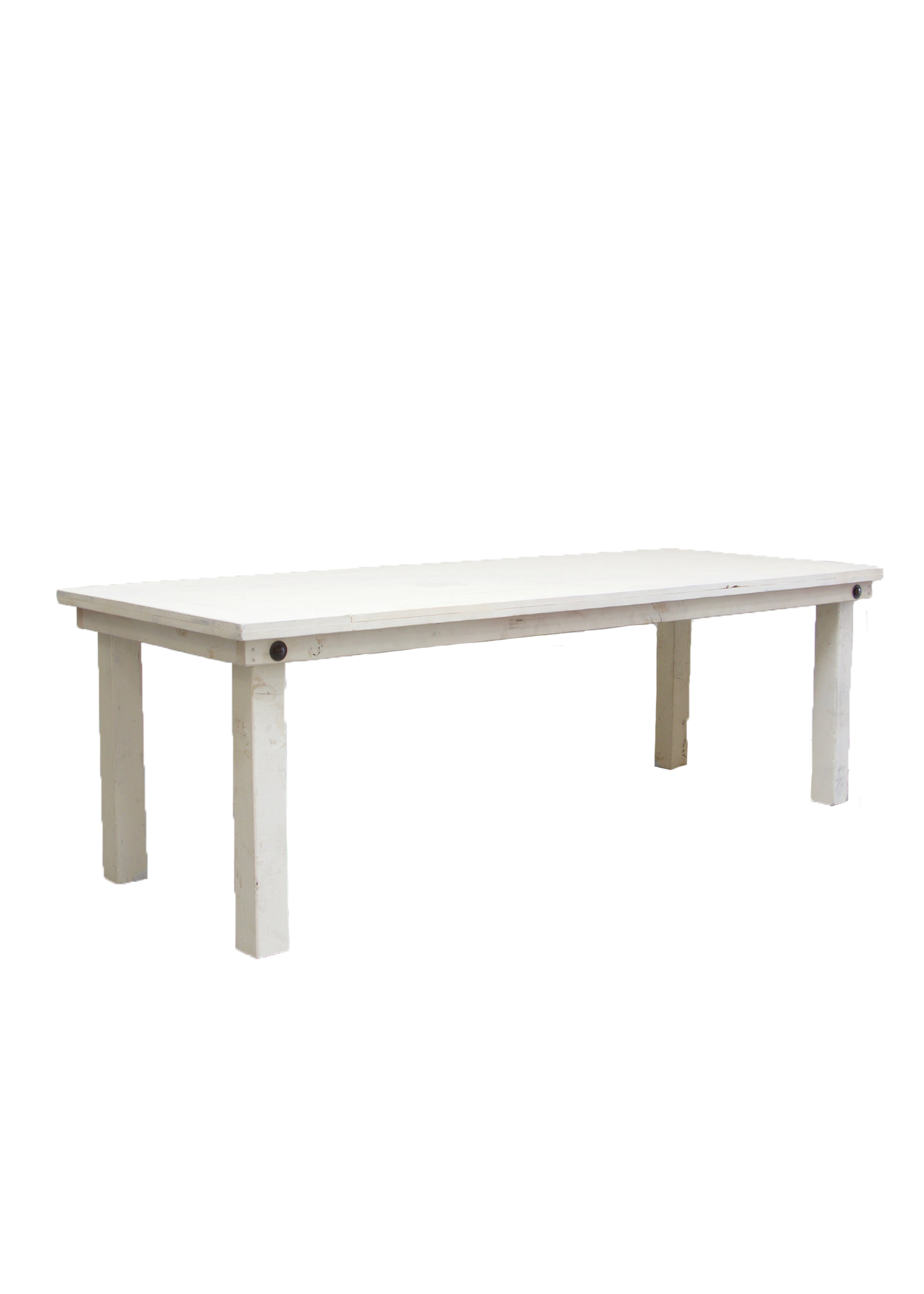 $85 Vintage White Rectangular Table