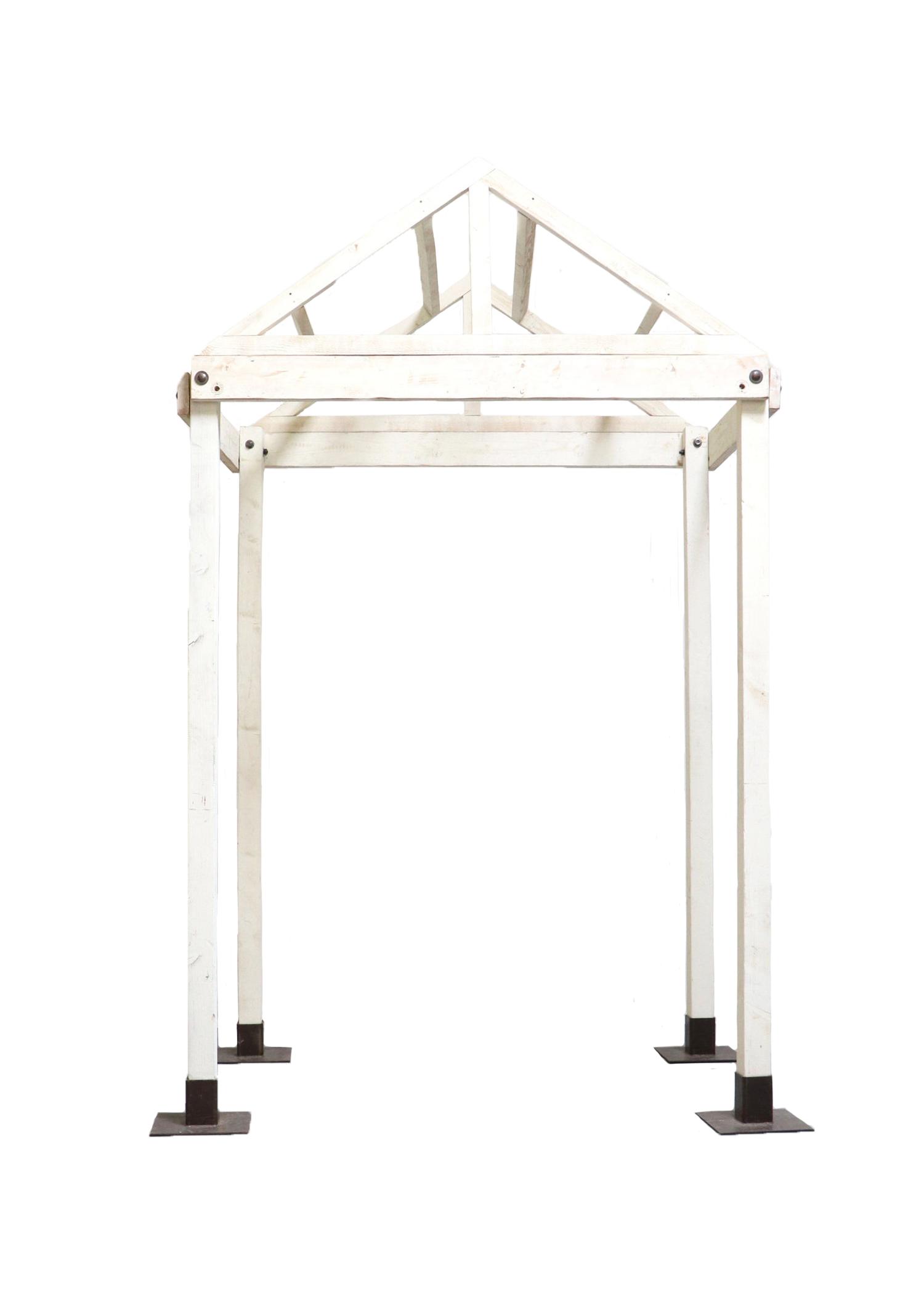 $425 The Vintage White Steeple Arch