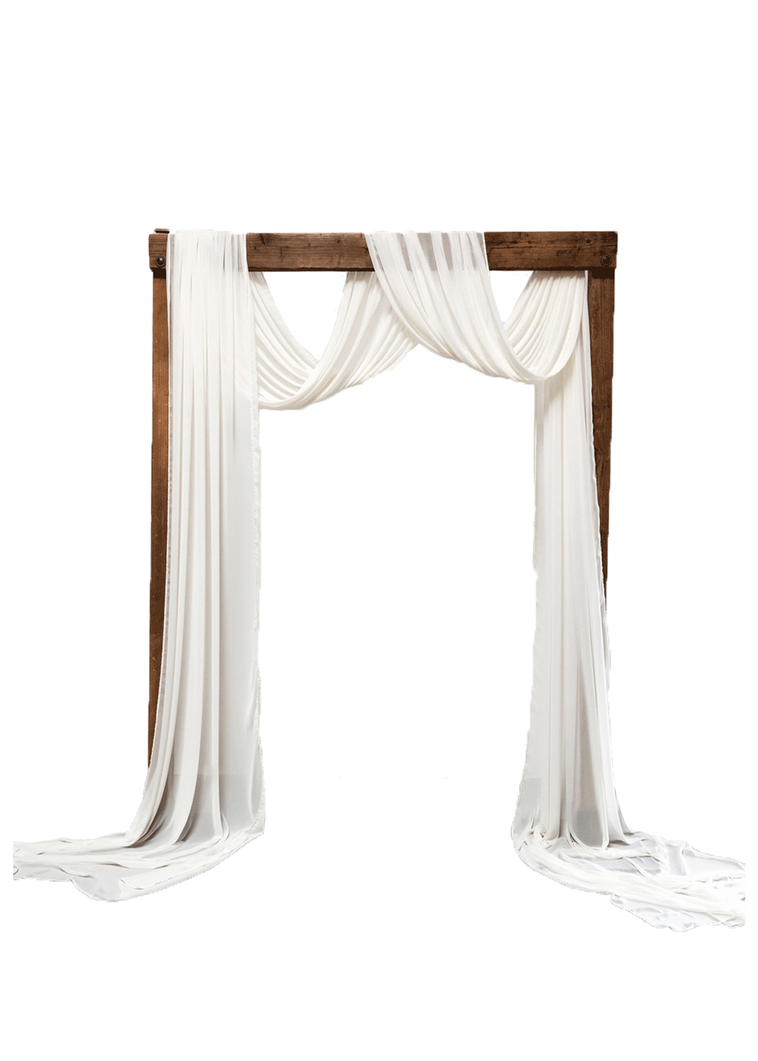 $275 The Classic Arch with Chiffon Draping