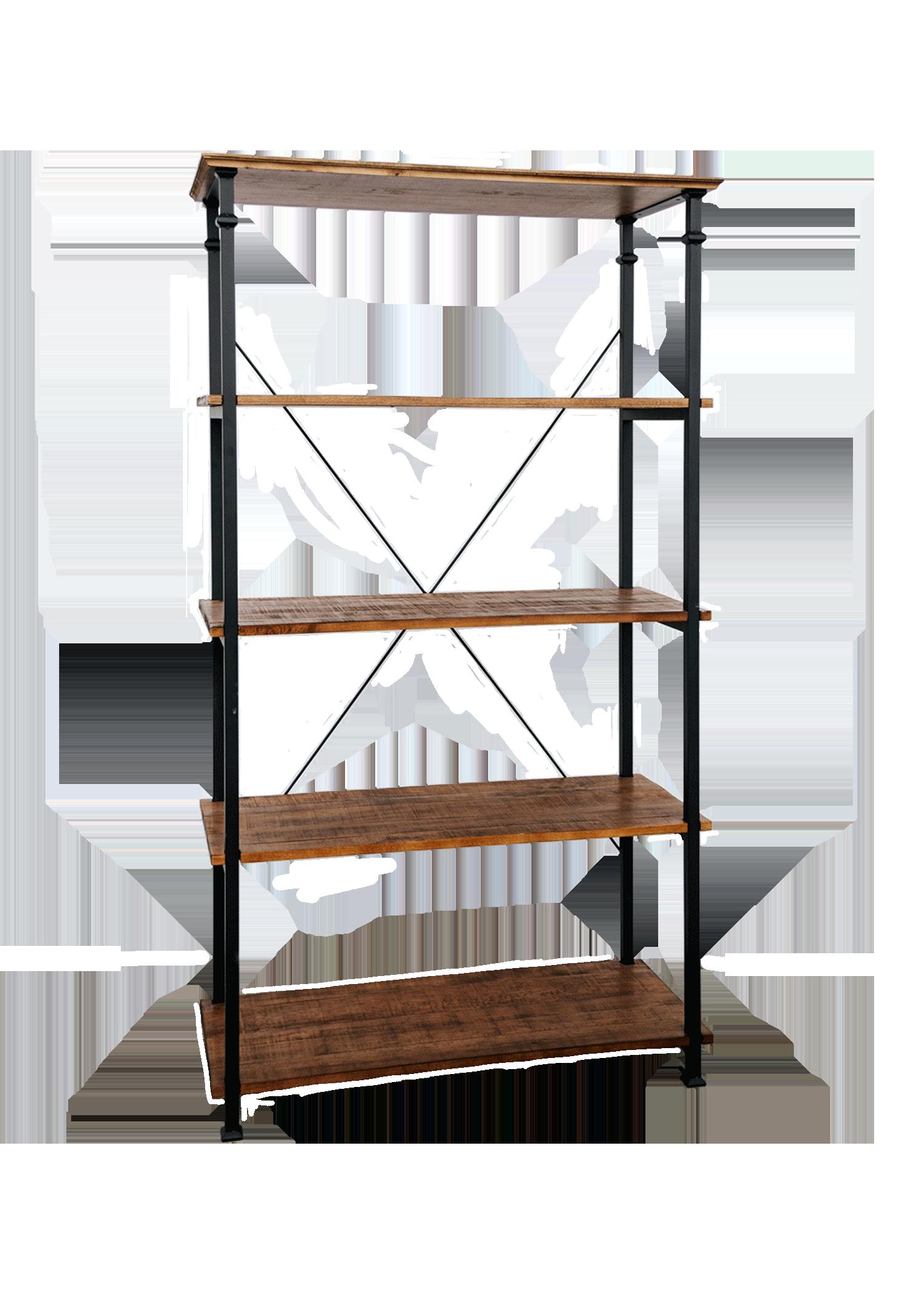 $75 Wooden X Shelf