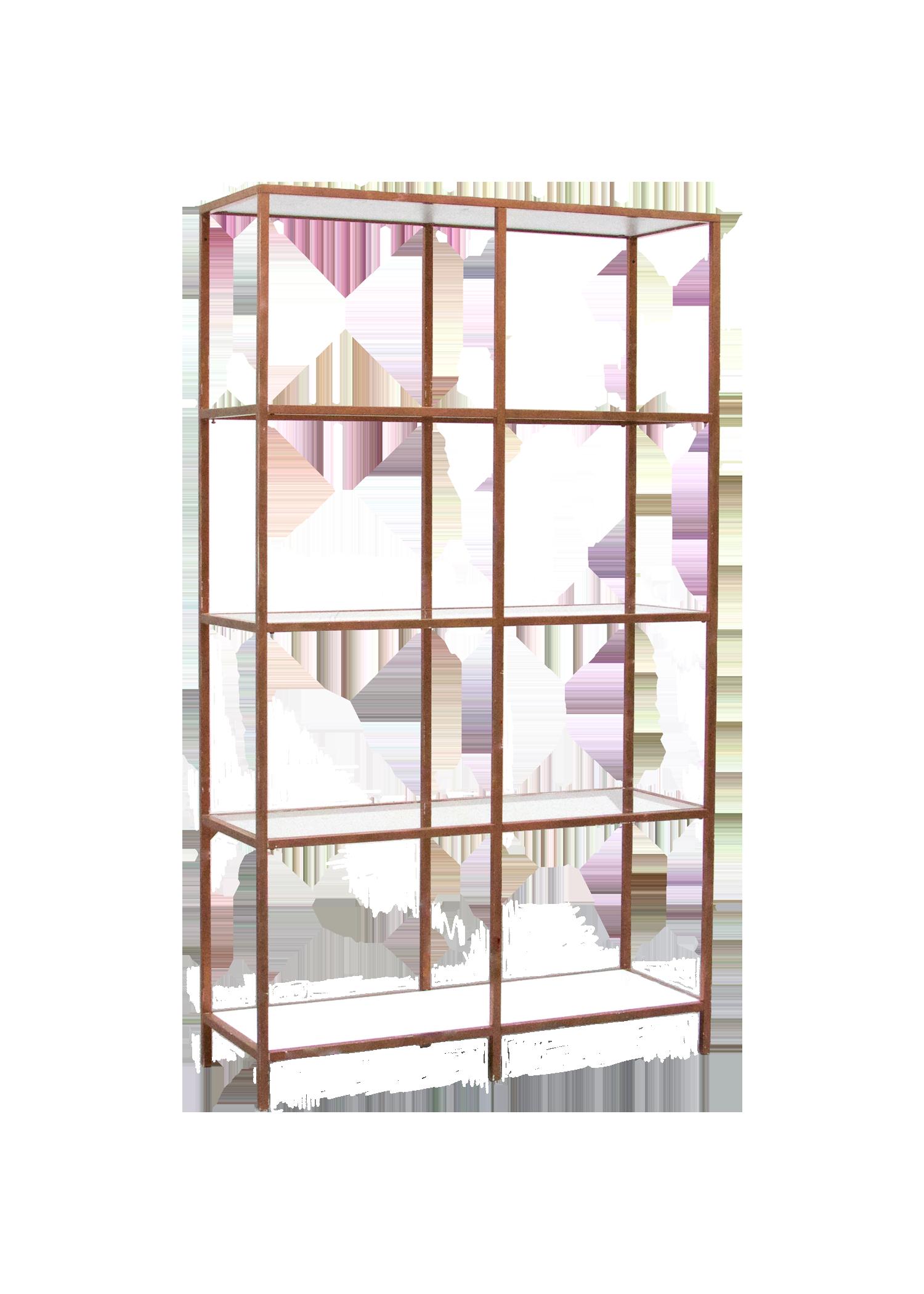 $100 Rose Gold Shelves