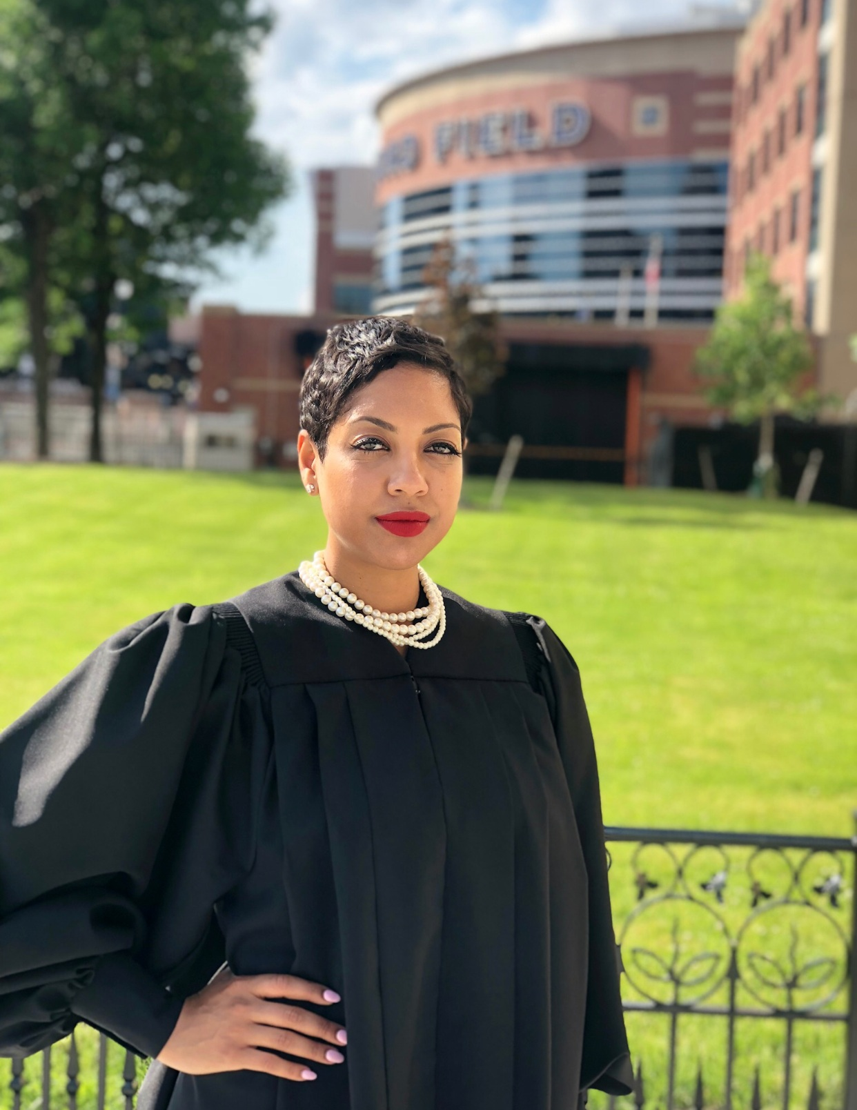 Honorable Judge Aliyah Sabree of the 36th District Court