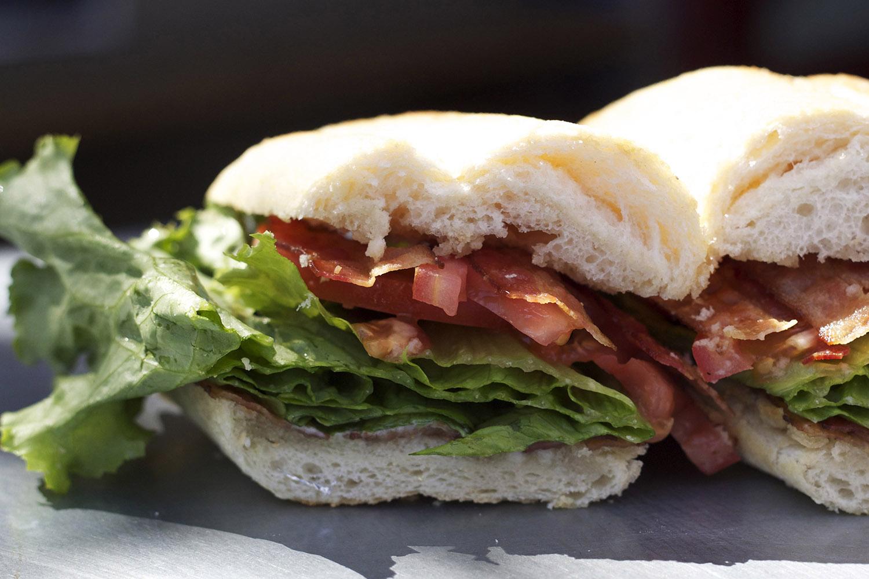 bacon • lettuce • tomato • mayo