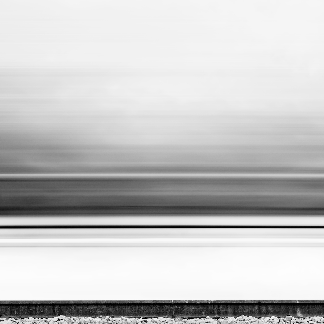 Tonal Transitions, fast train moving