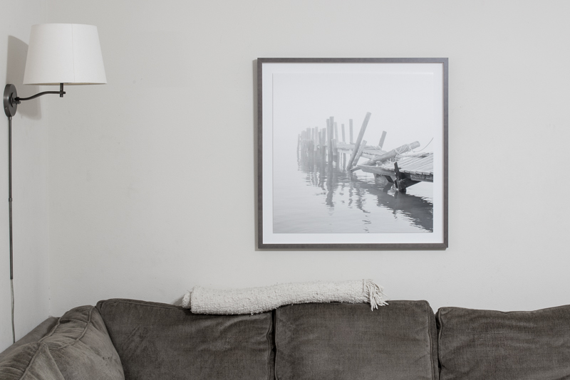 Float mounted in a happy home.