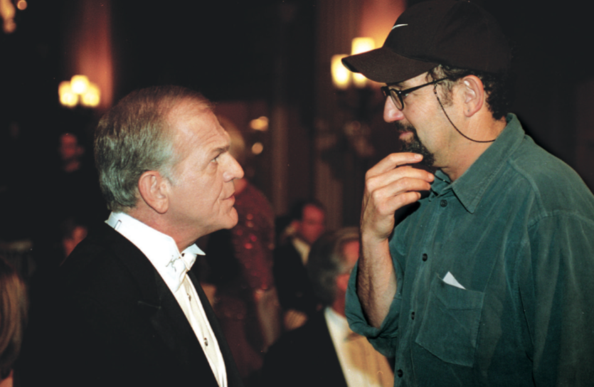 Thomas Schlamme, with John Spencer   on   The West Wing