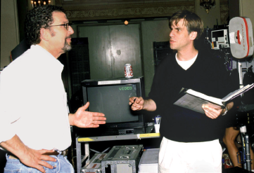 Tommy with Aaron Sorkin
