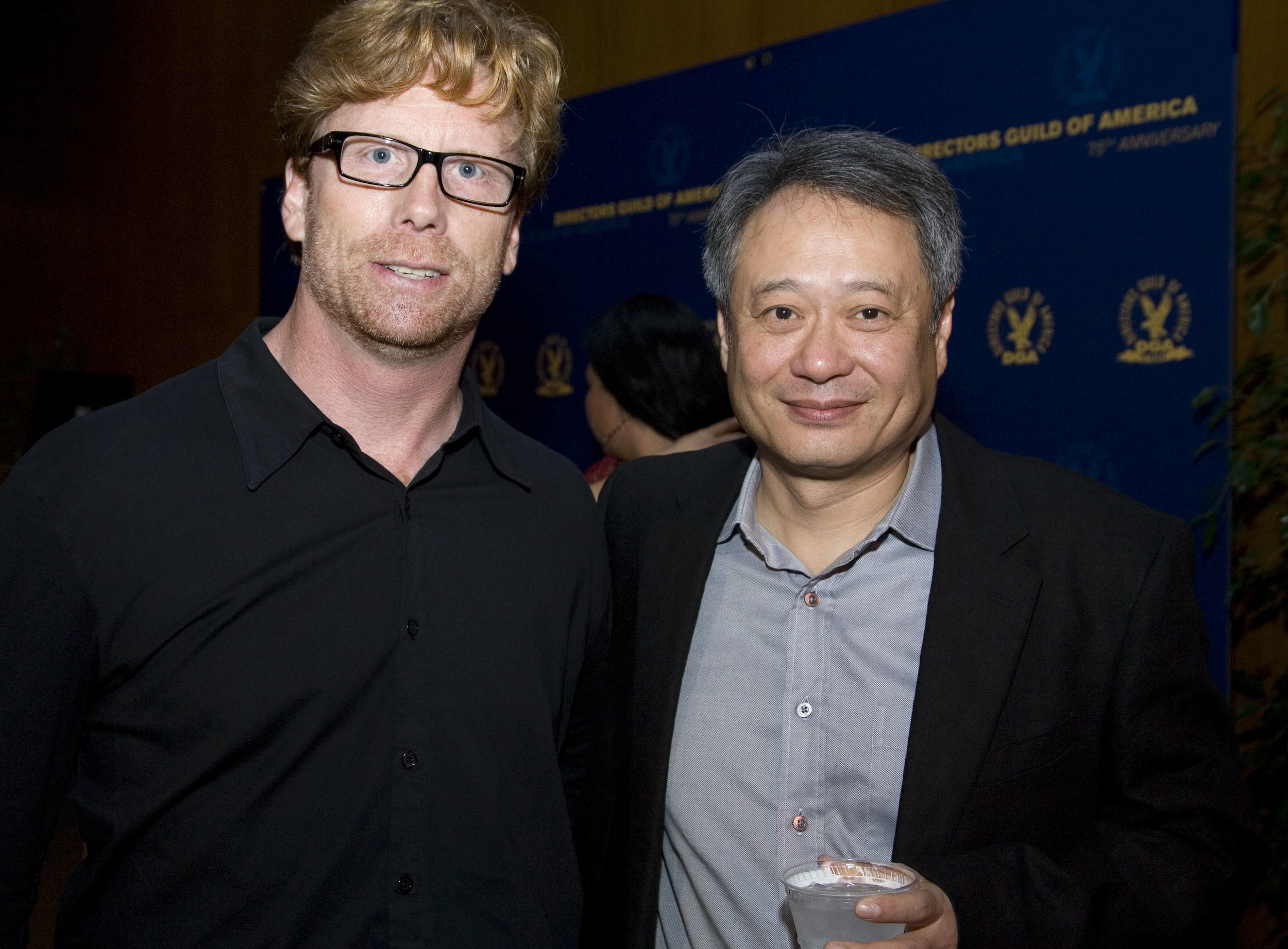 Bryan Unger with Director Ang Lee. Photo credit Directors Guild of America