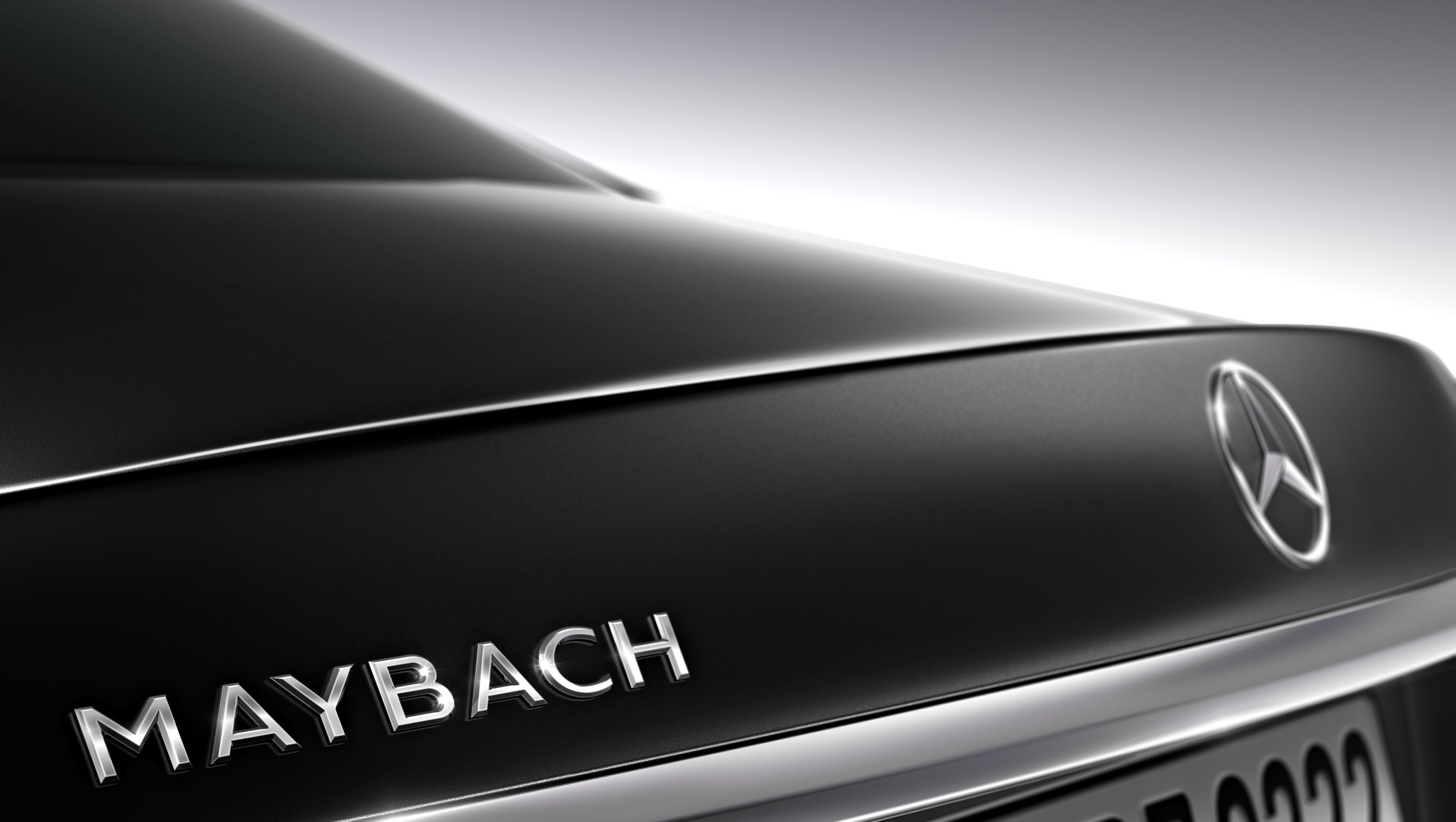 Maybach and Mercedes on the boot.