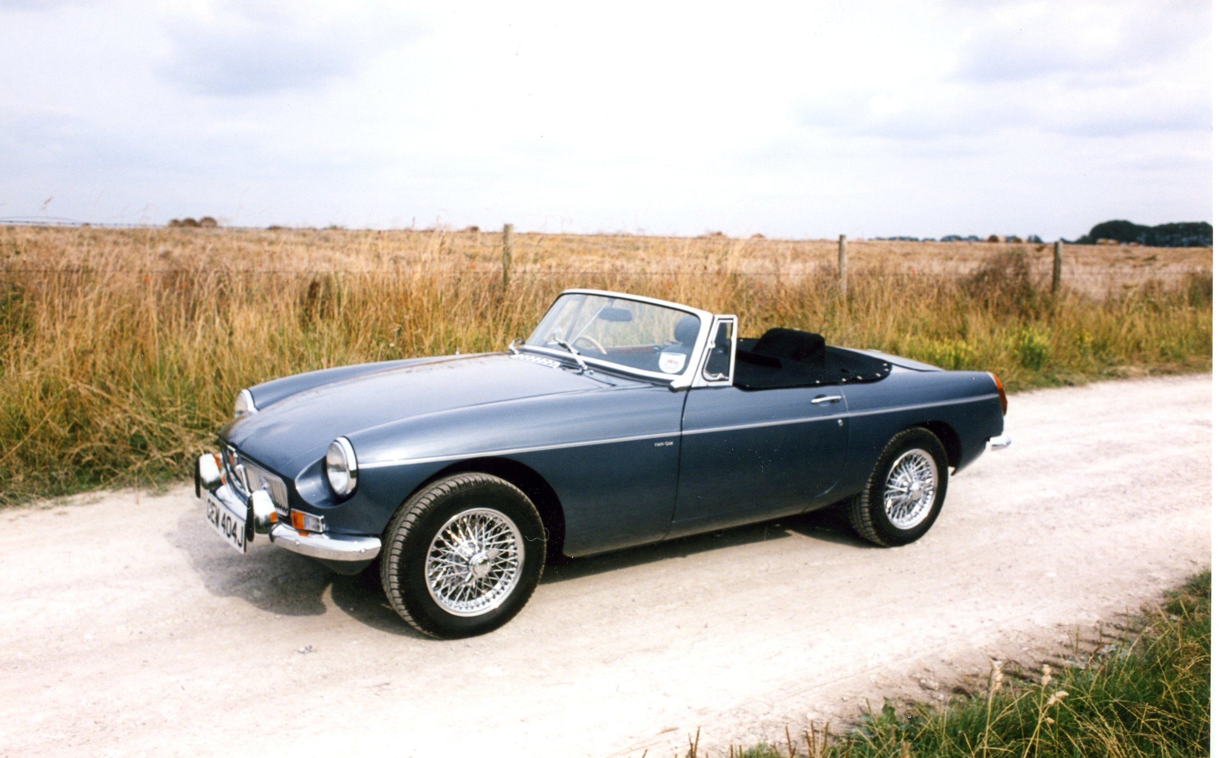 My MGB - Heritage shell, Twin-cam M16 engine, 5-speed gearbox.
