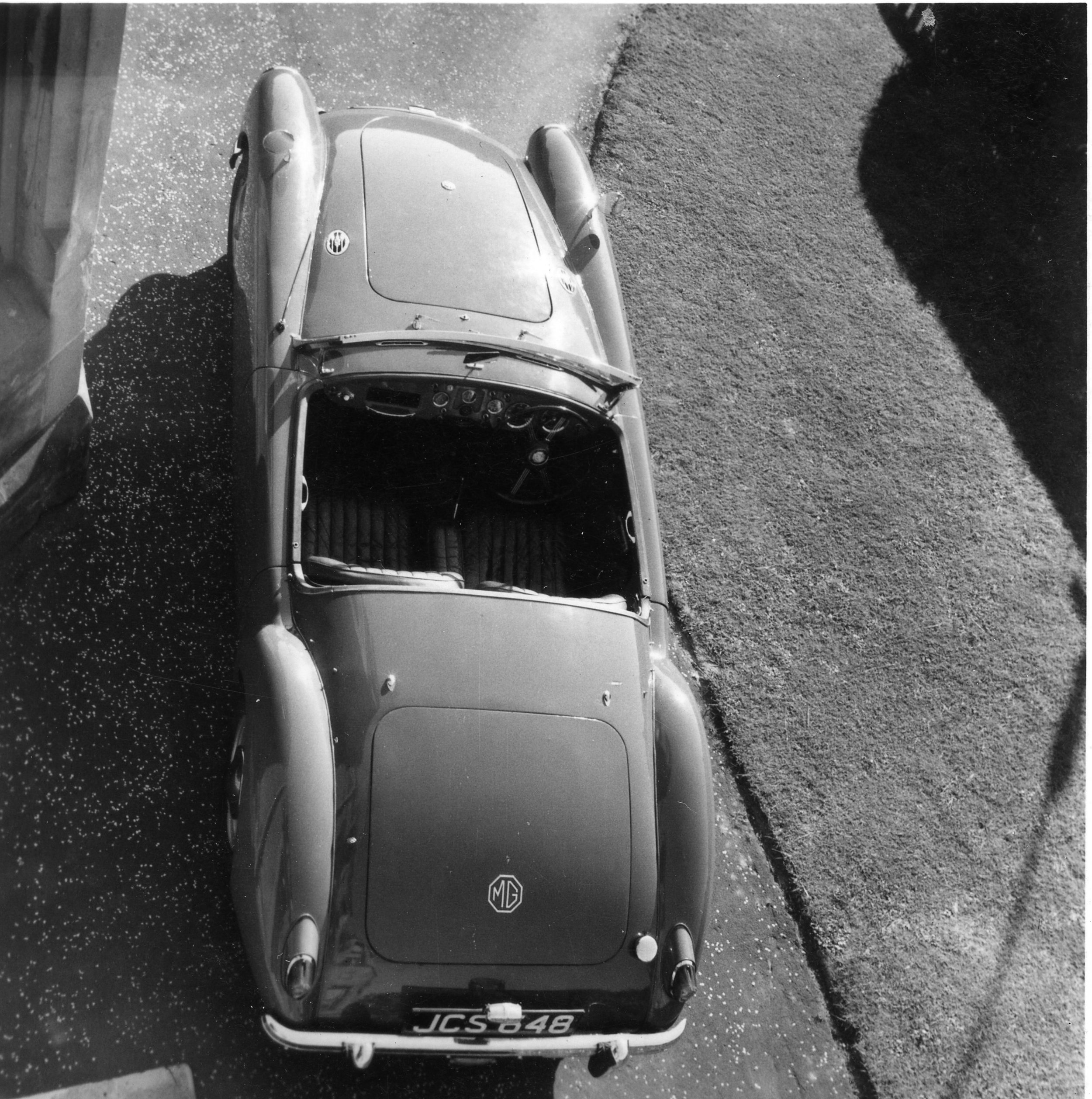 My MGA. 1950s masterpiece. What joy it was