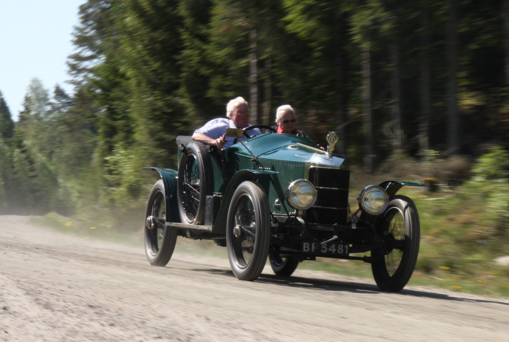 1913-1914 Prince Henry Vauxhall.