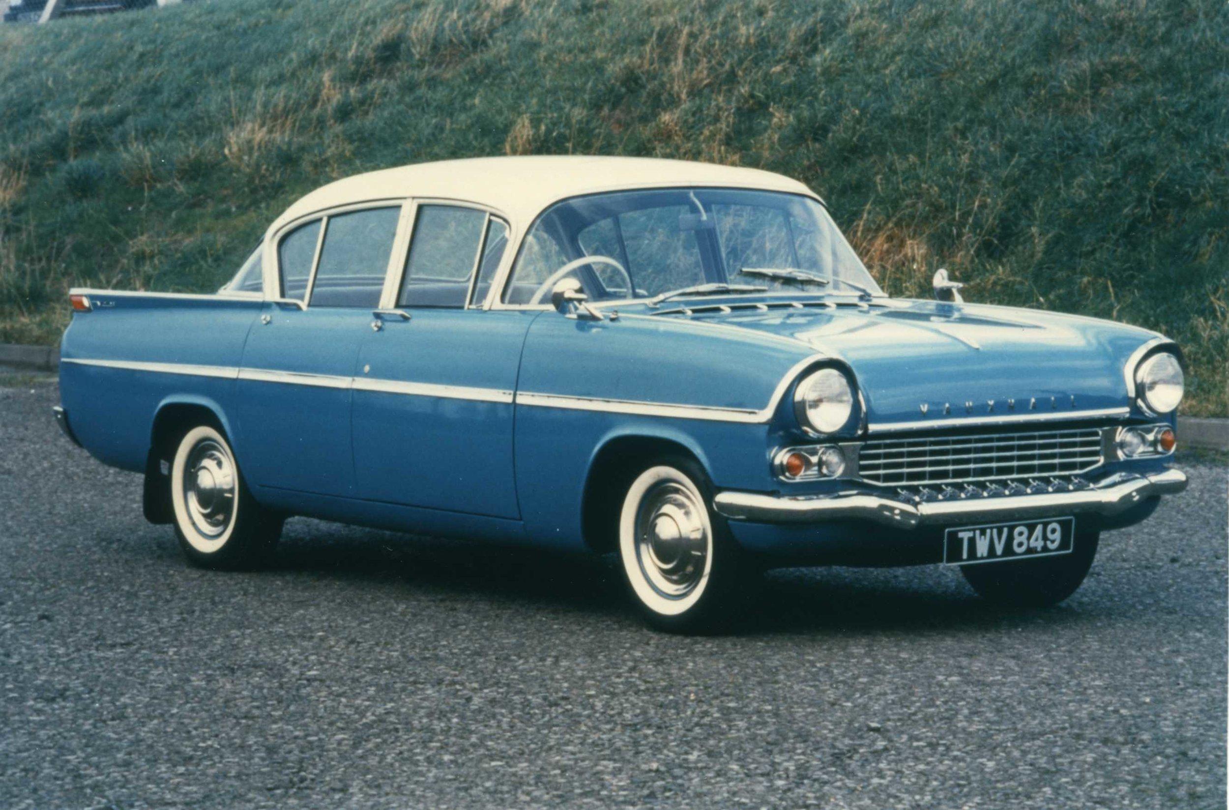 Transatlantic styling. Vauxhall Velox/Cresta of 1957
