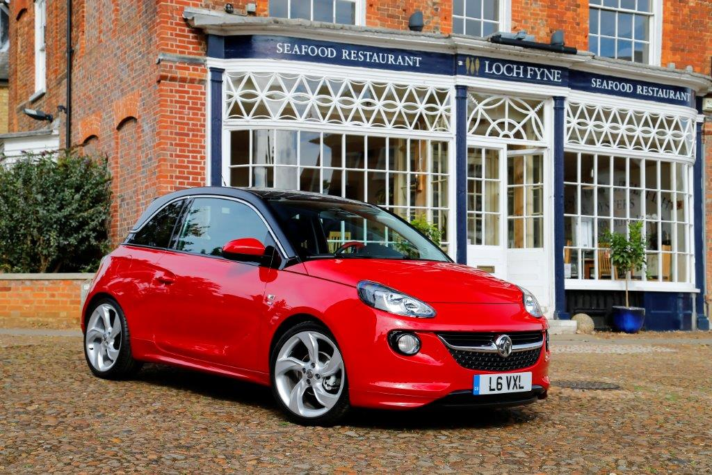Vauxhall Adam - a current joint GM Europe car.