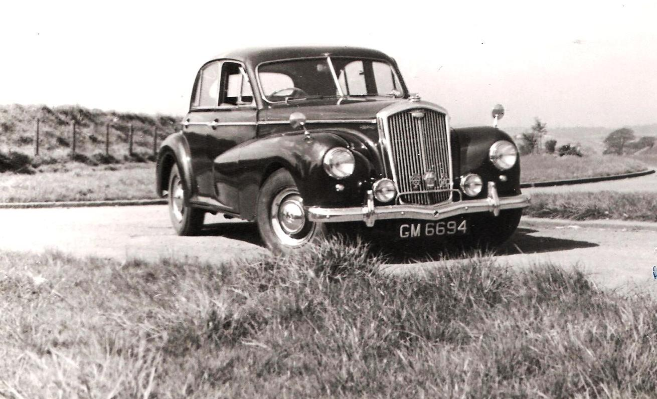 Our last Wolseley, a 6/80 with an overhead camshaft that took unkindly to teen driving