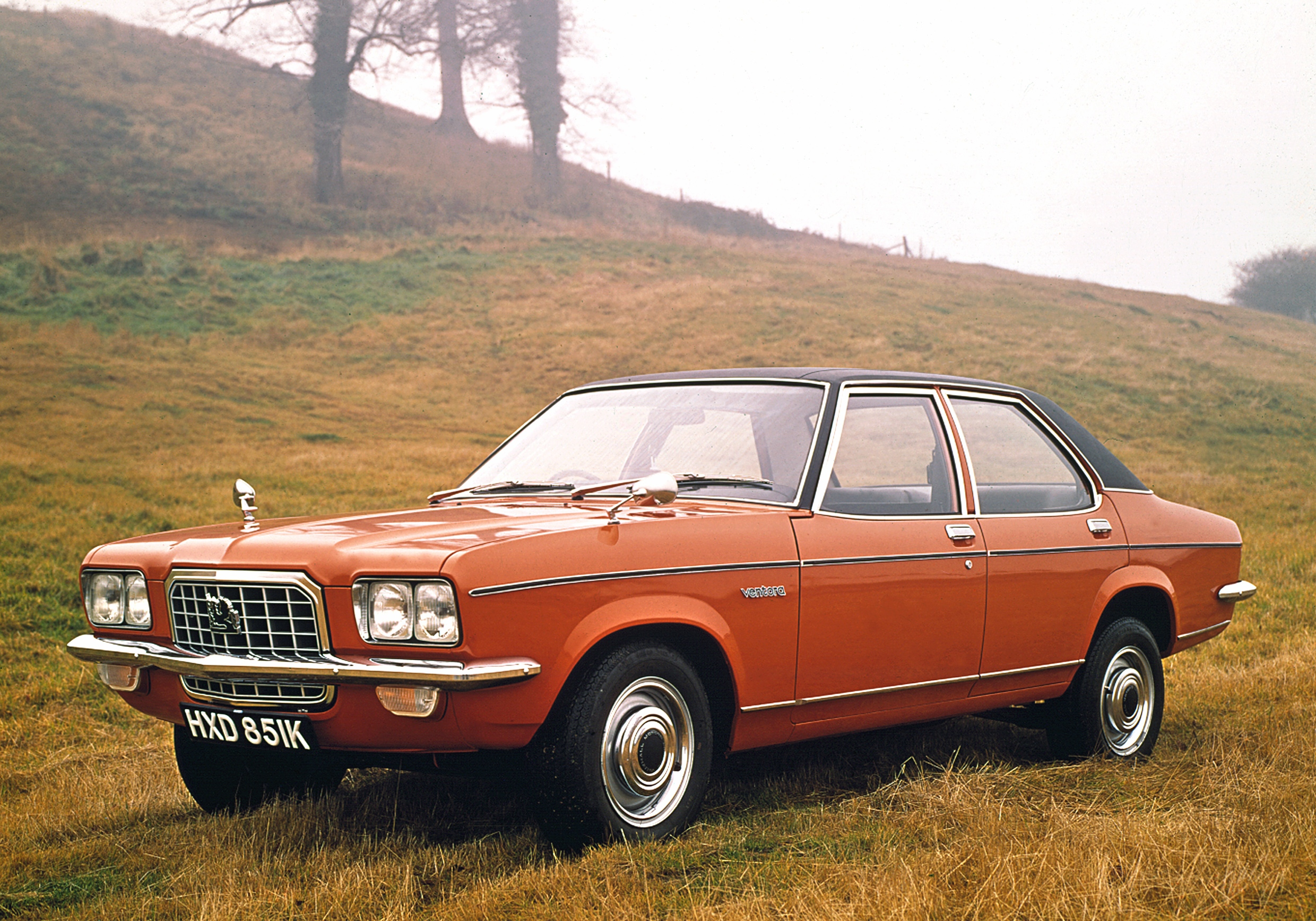 Under-rated middle-class style. The 1972 Vauxhall Ventora.