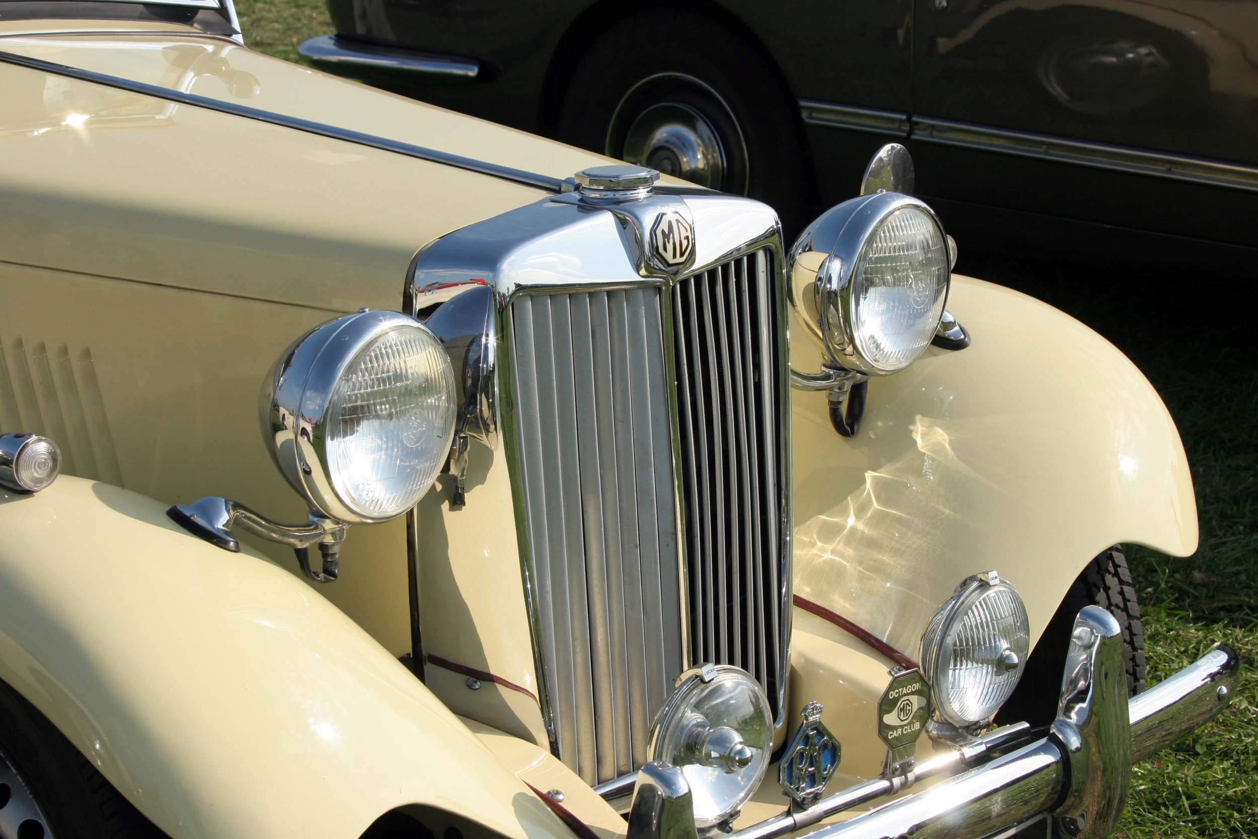 MG TD: The author's brother John had one