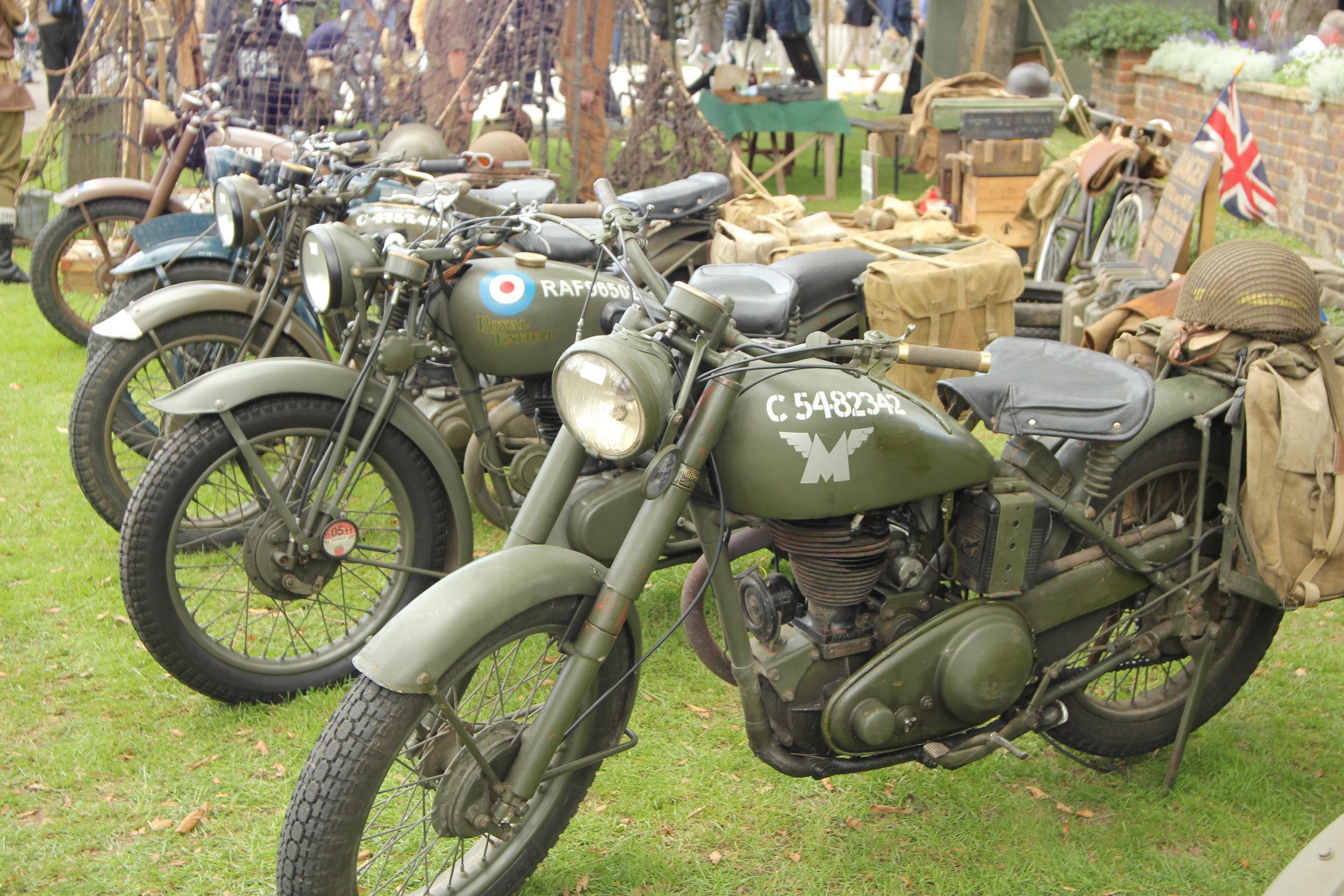 Motorcycles, army.JPG