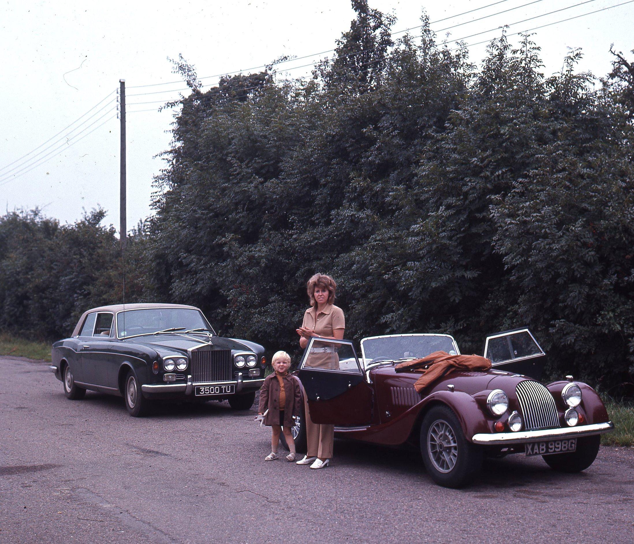001 Morgan and RR 2 door Mulliner 25 Aug 1970.jpg