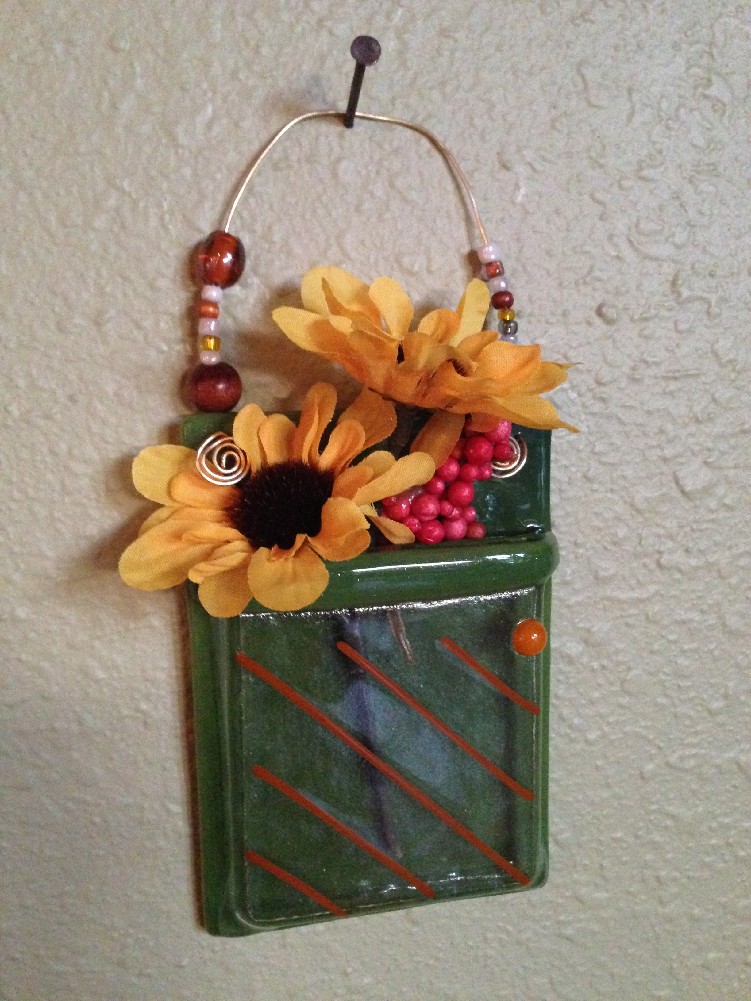 Whimsical Hanging Vase
