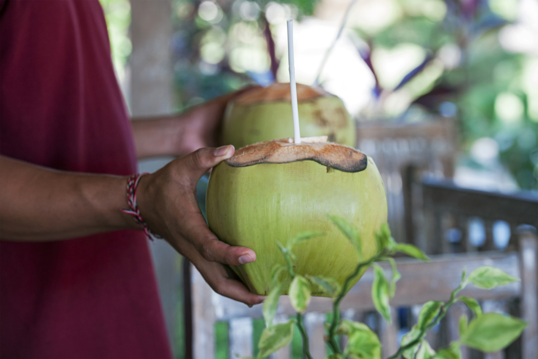 Welcome Drink! Coconut Water