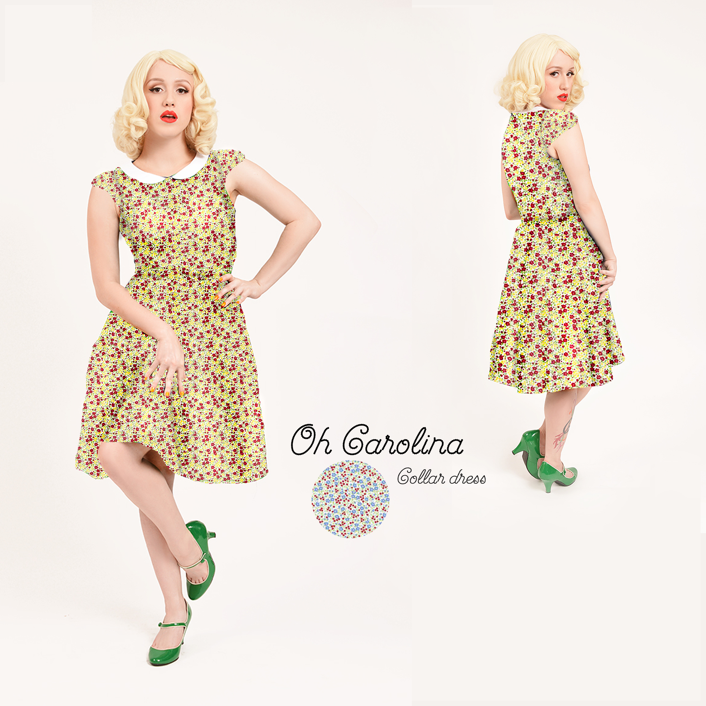 "The ""Oh Carolina"" dress, by Happy Yellow Dress"