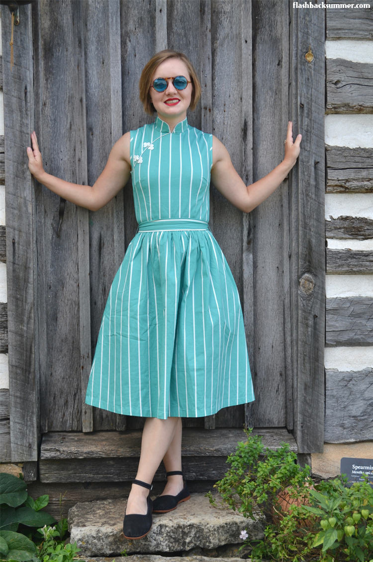Here she is! Emileigh Rogers from Flashback Summer looking gorgeous in our Wanderer dress.
